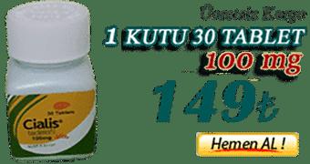cialis 100 mg 30 tablet 1 kutu